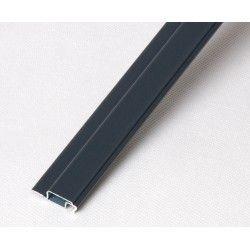 Profil kołnierzowy aluminiowy antracyt - 1m