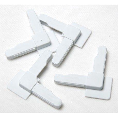 Narożnik moskitiery okiennej - biały 1 szt