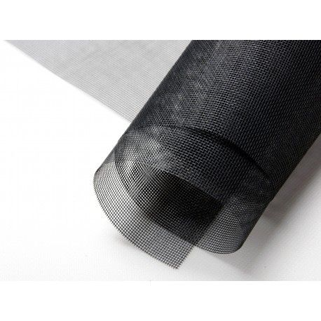 Siatka moskitiery - czarna 140 cm